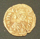 ANTIQUE BYZANTINE GOLD COIN TREMISSIS TIBERIUS II 579 - 582 AD