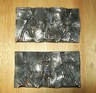 World War 2 - Vintage Lead Mold - With 3 Soldiers