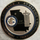 Federal Bureau of Prisons - USP Atanta challenge coin/key chain