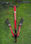 FLIKER F3 SCOOTER EXERCISER ADULT SIZE MADE BY Y VOLUTION RED
