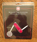 Wenger Crusader Swiss Army Pocket Knife - red - new in package