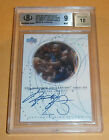 2002-03 Ultimate Collection Signatures #MJS Michael Jordan Auto Wizards BGS9 !!