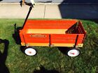 Radio Flyer Red Wood Wagon Vintage Town & Country
