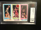 Topps 1980-81 Basketball Card Set includes Bird,Magic,Erving Graded