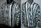 COOGI SWEATER MEN'S M EARTH TONES Made in Australia UGLY CRAZY CHRISTMAS PARTY