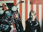 Triumph Motorcycle Union Jack ad British Bike print/gift 1967 1968 1969 1970