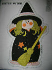Vintage Springs Mills Cut & Sew Fabric Panel 7685 STITCH WITCH Doll Pillow