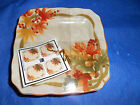 4pc 222 FIFTH Autumn Celebration Thanksgiving Dinnerware Appetizer Snack Plate