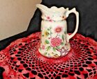 VINTAGE JAMES KENT (ENGLAND) OLD FOLEY CHINESE ROSE PITCHER / EWER 32 Oz.