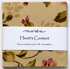 Hearts Content Charm Pack Fabric - Moda - Laundry Basket Quilts