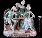 ANTIQUE GERMAN FRENCH PORCELAIN NODDER FIGURINE DRESDEN MARIE ANTOINETTE LOUIS