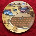 1978 Royal Doulton Pumpkin Patch Collector Plate, #6553 Art by C A Brown