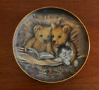 Collector Franklin Mint plate Bedtime Story by Sue Willis W5839 Limited Edition