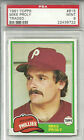 1981 TOPPS TRADED #815 MIKE PROLY PSA 9 MINT !