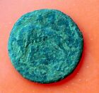VRBS ROMA ANCIENT ROMAN BRONZE COIN !! SHE WOLF !! UNCLEANED !