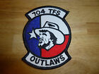 704th Tactical Fighter Squadron TFS Patch Outlaws USAF US Air Force 4