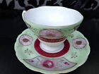 VINTAGE UCAGCO CHINA HAND PAINTED CUP AND SAUCER. GOLD TRIM. JAPAN
