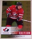 2013-14 Upper Deck Team Canada Jr Special Ed GOLD #SE-5 Anthony Mantha RED WINGS