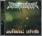 HAEMORRHAGE - ANATOMICAL INFERNO - CD NEW