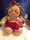 Dan Dee 2004 Gingerbread Kids GIRL Scented Stuffed Animal Plush Christmas Toy