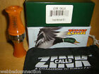 NEW Acrylic ZINK  Power Hen PH-2 Mallard Duck Call Orange Marbleade Double Reed