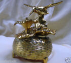 MUSIC BOX - IN CANADA  EH! Moving Hummingbird, WORKING,VINTAGE Japan 1960's  NB