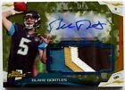 2014 Topps Finest Autographed Jumbo Relic Camo Patch Blake Bortles - 8 10