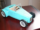 NYLINT FORD ROADSTER 1960s RARE Light Blue Convertible HOT ROD Pressed Steel USA