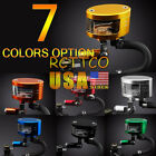 7 Color Brake Reservoir Oil Fluid Cup Universal Fit For Yamaha YZF R6 R1 US Ship