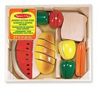 Melissa and Doug Cutting Food  New Free Shipping