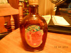 BICENTENNIAL BOTTLE-FLASK-LOG CABIN SYRUP SAYS SPECIAL