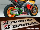 Bridgestone tire battlax fairing  or swingarm decal sticker for motorcycle