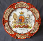 Antique Wedgwood Souvenir Plate MOOSE JAW Canadian Heraldic Coat of Arms