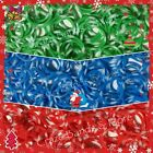 Rainbow Color Rubber band Loom Green Blue Red Polka Dots Tie Dye White Christmas