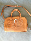 Force Ten Classic Authentic Handmade Genuine Leather hand tooled leather purse