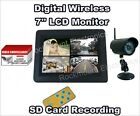 Digital Wireless DVR Security System w 7