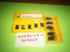 15 inserts Top Notch NJF3012R14 Carbide Inserts Grade KC5025 by Kennametal