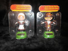 Plastic Solar-Powered Thanksgiving Dancing Pilgrims Set of 2!! NEW!!