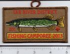 BSA 2013 East Carolina Council - Tar River District - Fishing Camporee