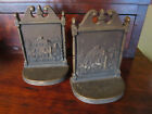 ANTIQUE 1920'S OLD MANSE NATHANIEL HAWTHORNE BRADLEY & HUBBARD  BOOKENDS
