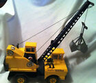MIGHTY TONKA CRANE Vintage 1960s COMPLETE ORIGINAL COLLECTIBLE - 17 Inches HTF