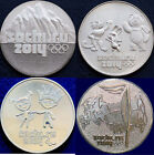 4 COINS FULL SET RUSSIAN 25 RUBLES 2014 OLYMPIC GAMES SOCHI COIN RUSSIA