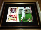 2003 TED WILLIAMS UD Authentics 8 x 10 Cut Auto Patch #7 25 Upper Deck Framed!