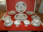 EXQUISITE VINTAGE PORCELAIN 20-PC ROYAL KENT CHINA DINNERWARE ROSE DESIGN POLAND