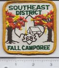 BSA: Vintage Southeast District - 1968 Fall Camporee