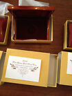 2008-W PROOF $10 GOLD LOUISA'S ADAMS FIRST SPOUSE  BOX, OGP & COA (NO COINS)