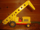 1950's TIN LITHO FRICTION FARM TRACTOR WITH CONVEYER CRAGSTAN SSS JAPAN TOY RARE