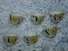 Blue Ridge China Southern Pottery Mountain Nosegay Pattern Coffee Cup Lot