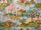 Adventures of Sonny Bear 55x44 1.5 Yard Red Rooster Fabrics 13291 Country Woods