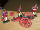 Frontline FGG.1. The Indian Wars, 4lb. French Artillery, 3 Crew Firing  1/32